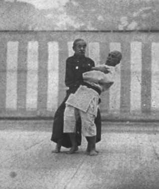 Above: Jigoro Kano demonstrates a technique. Source: http://www.judo-educazione.it/video/koshiki_en.html